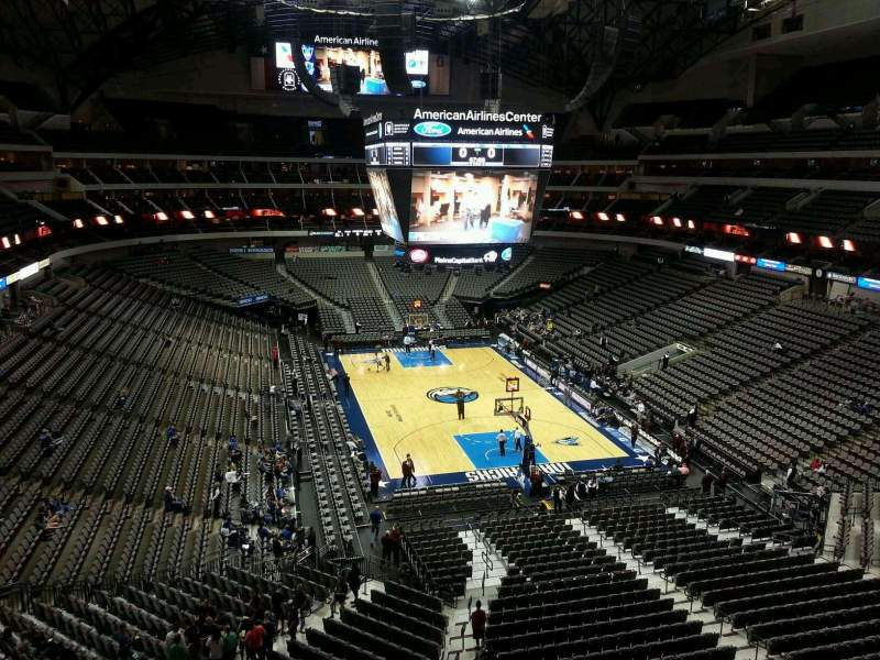 Seating view for American Airlines Center Section 303 Row A Seat 3