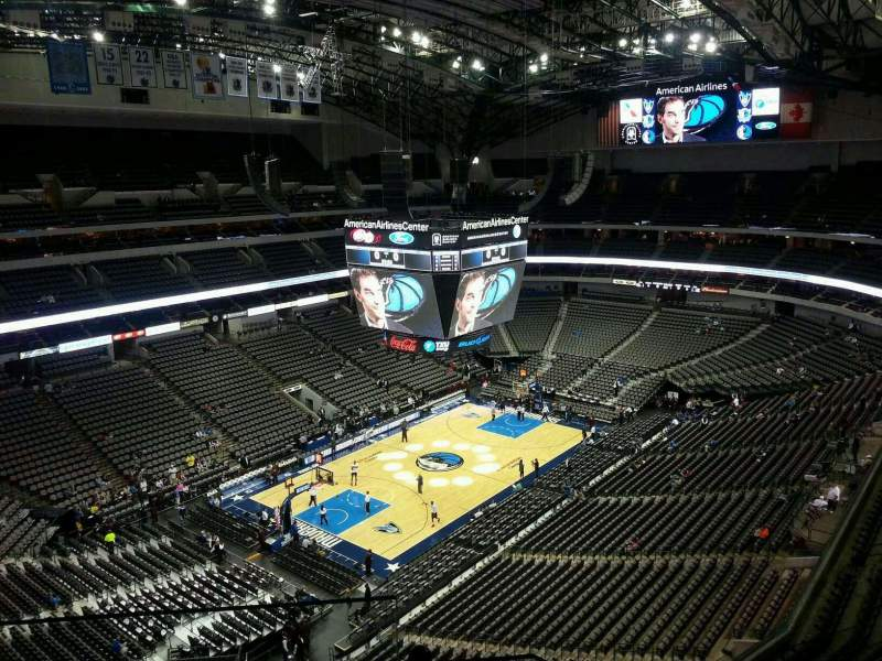 Seating view for American Airlines Center Section 314 Row G Seat 17
