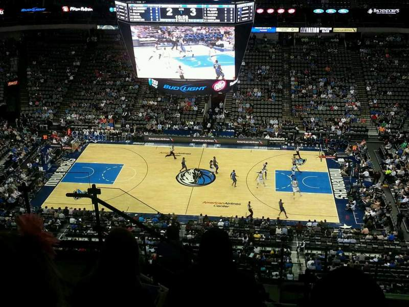 American Airlines Center, section: 309, row: L, seat: 15