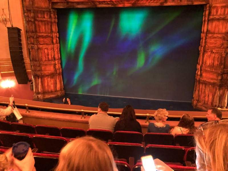 Seating view for St. James Theatre Section Mezzanine C Row E Seat 103