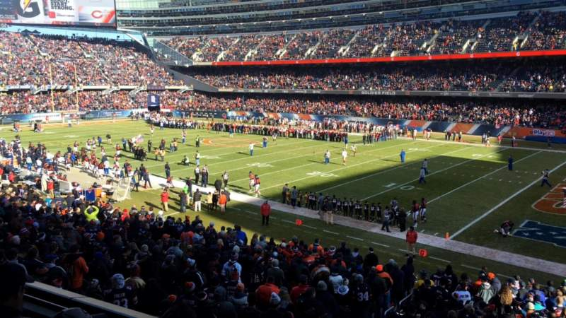 Seating view for Soldier Field Section 231 Row 3 Seat 15