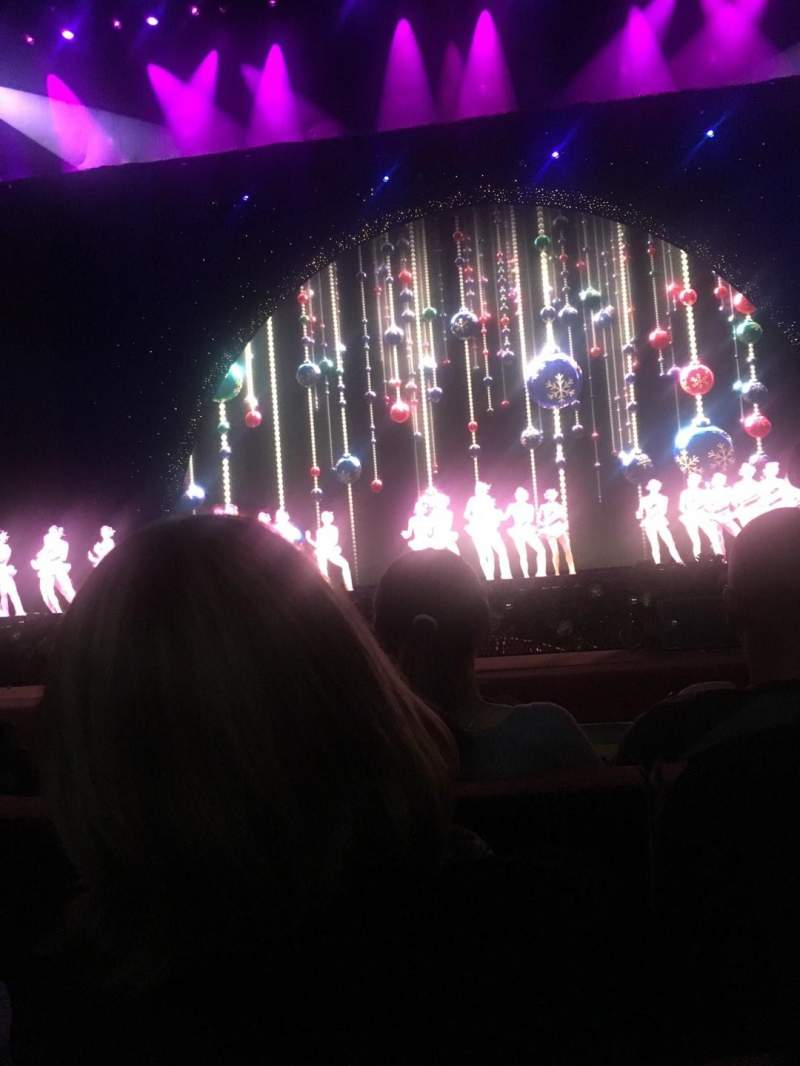 Seating view for Radio City Music Hall