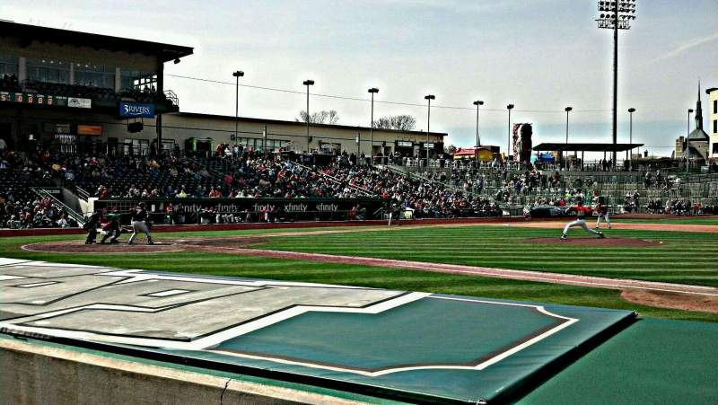 Seating view for Parkview Field Section 103 Row H Seat 12