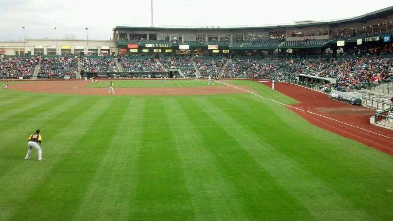 Seating view for Parkview Field Section 118 Row A Seat 1