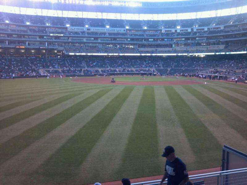 Seating view for Target Field Section 130 Row 8 Seat 23