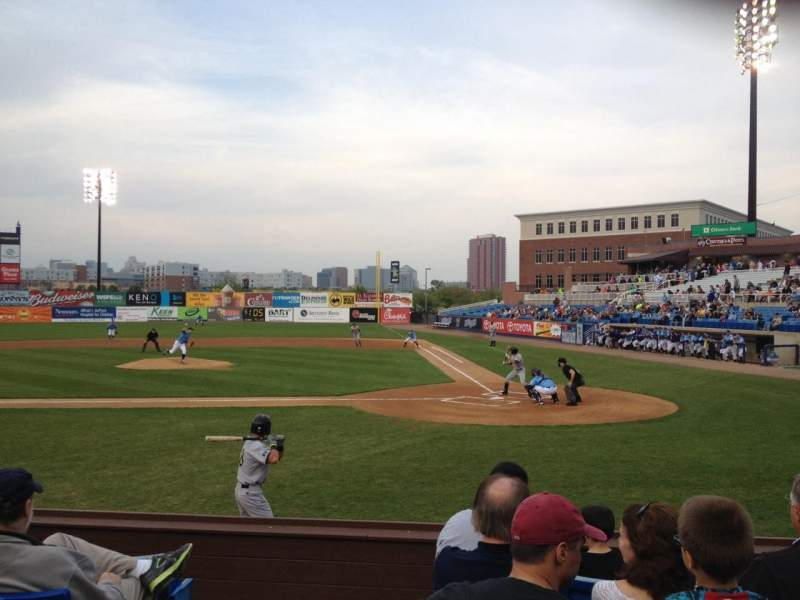 Seating view for Frawley Stadium Section 18 Row 6 Seat 9