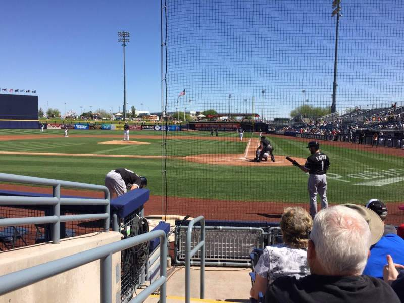 Seating view for Peoria Sports Complex Section 103 Row F Seat 11
