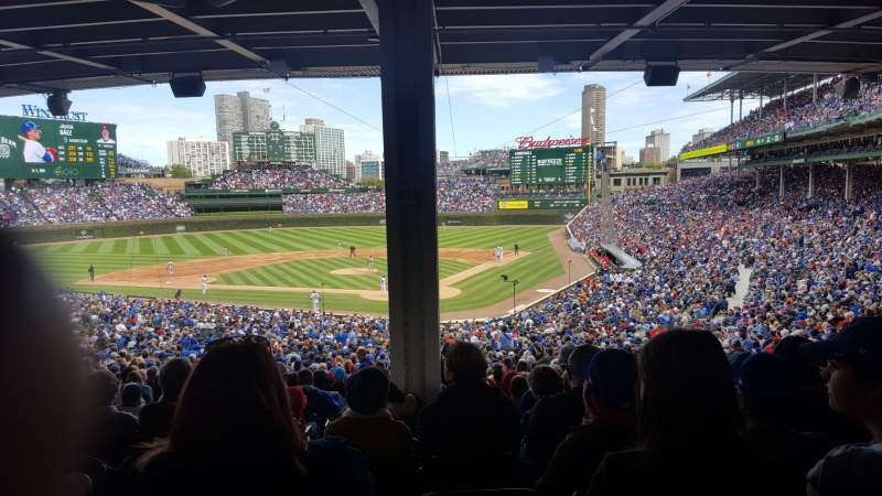 Seating view for Wrigley Field Section 216 Row 15 Seat 2