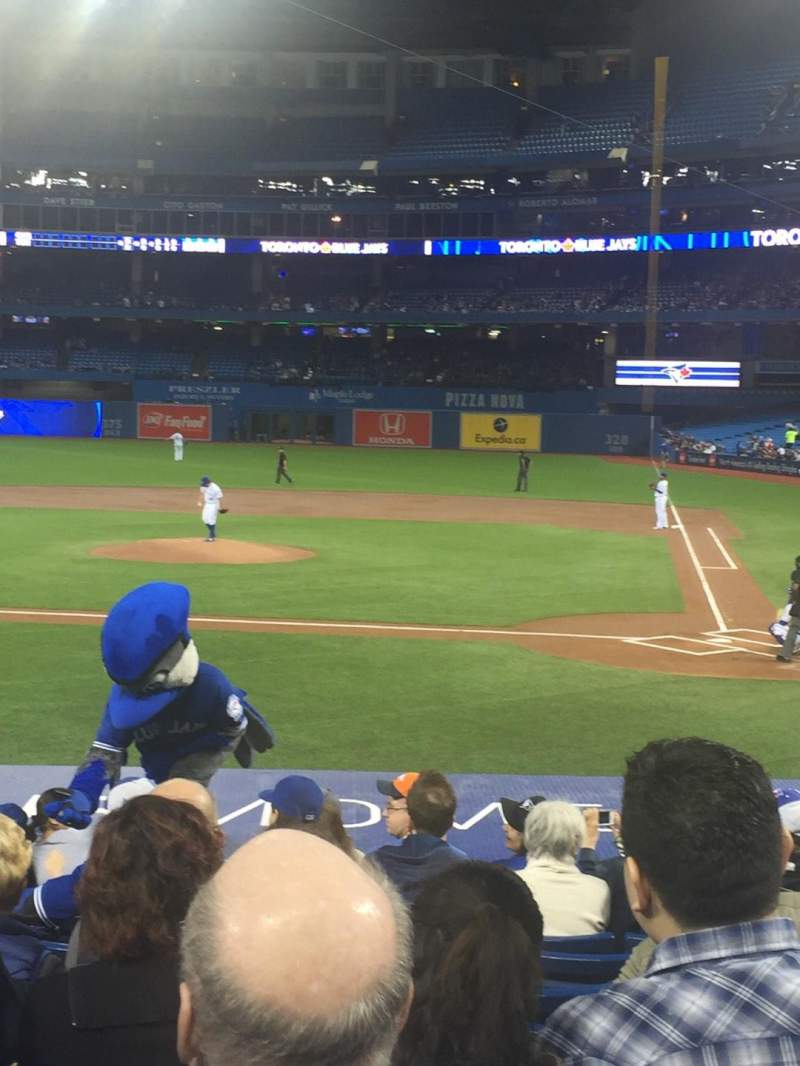 Seating view for Rogers Centre Section 124L Row 18 Seat 109