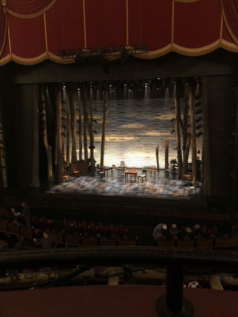Seating view for Citizens Bank Opera House Section Dress Circle LC Row AA Seat 2,4