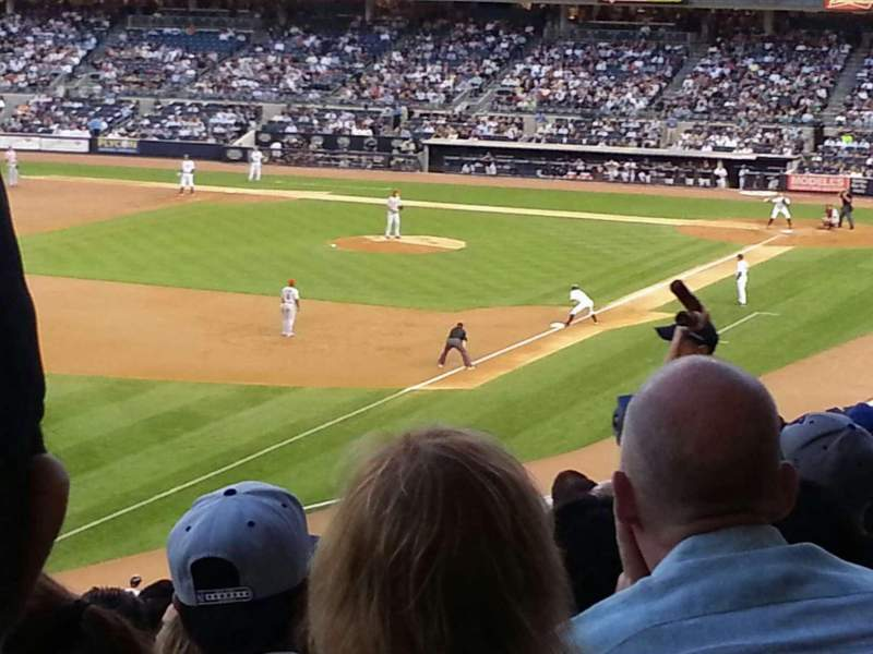 Seating view for Yankee Stadium Section 230 Row 11 Seat 17