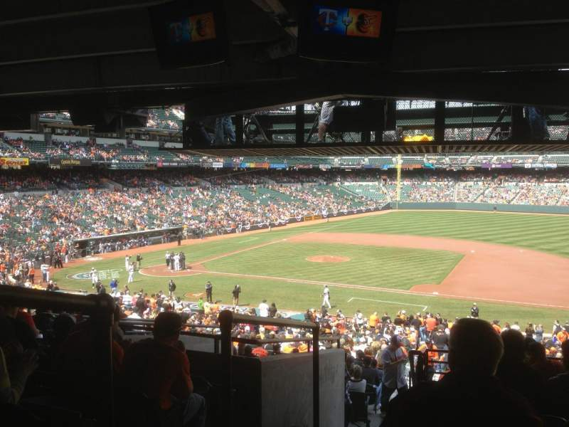 Seating view for Oriole Park at Camden Yards Section 17 Row 11 Seat 19