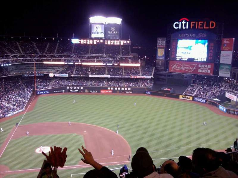 Seating view for Citi Field Section 507