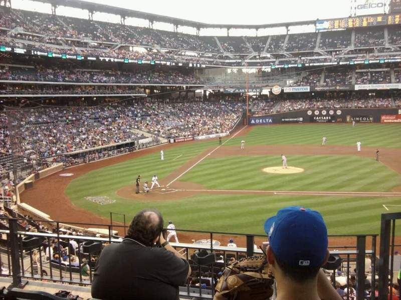 Seating view for Citi Field Section 313 Row 3