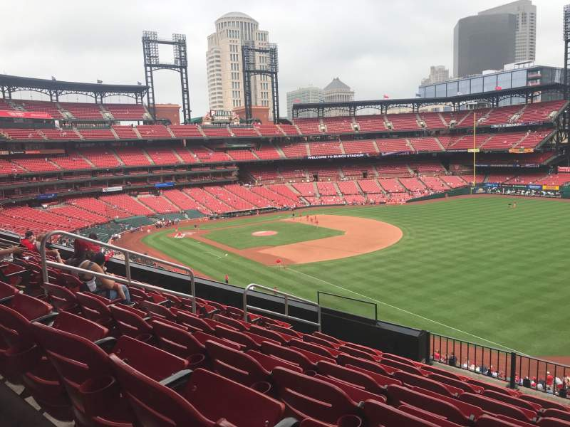 Seating view for Busch Stadium Section 234 Row 8 Seat 9