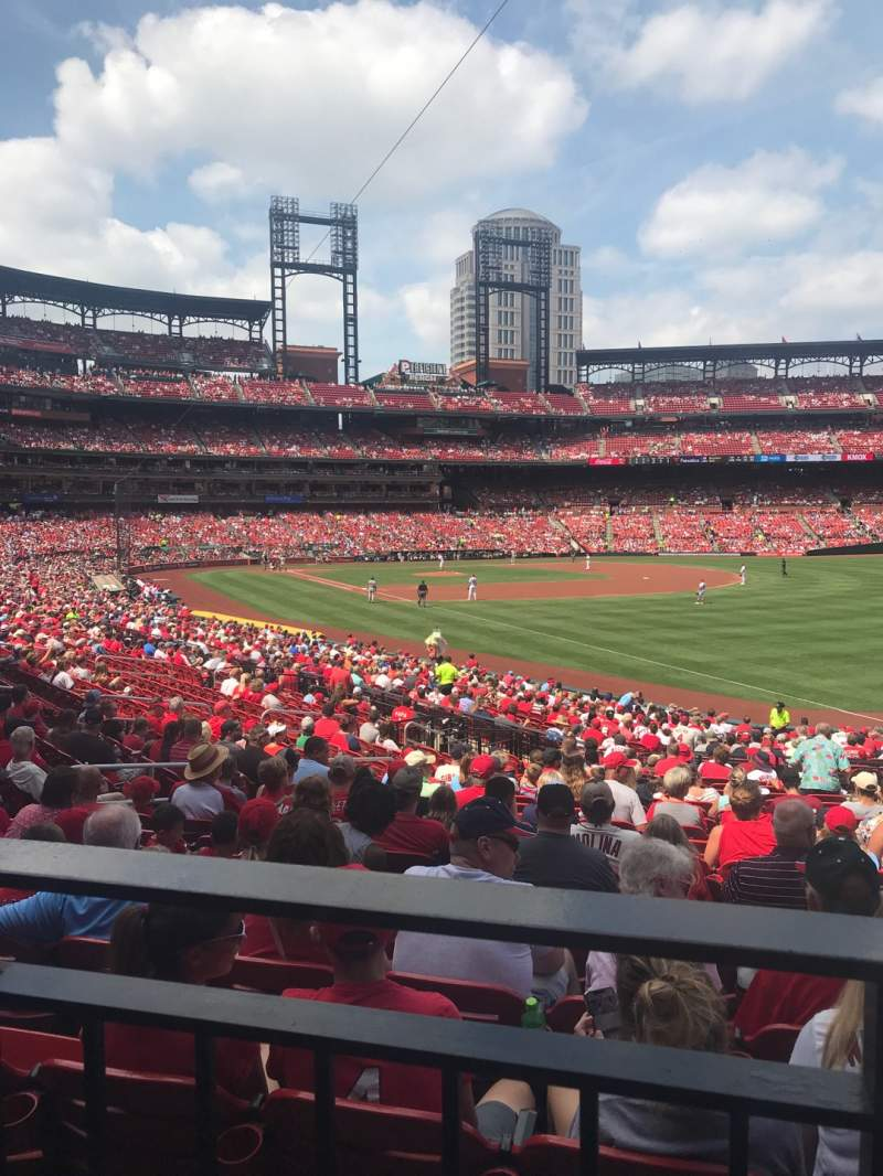 Seating view for Busch Stadium Section 133 Row WC Seat 9