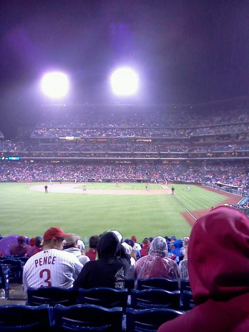 Seating view for Citizens Bank Park Section 141 Row 16 Seat 19
