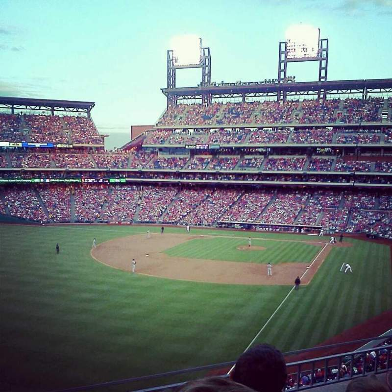 Seating view for Citizens Bank Park Section 237 Row 3 Seat 11