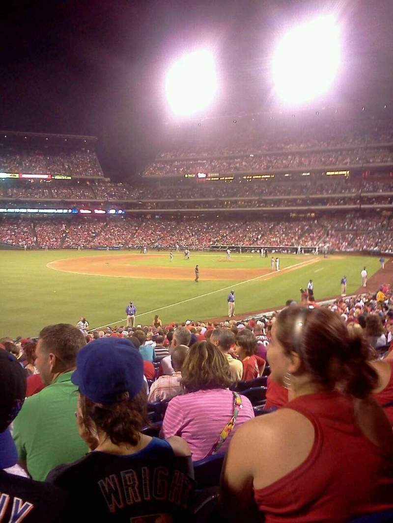 Seating view for Citizens Bank Park Section 138 Row 31 Seat 14