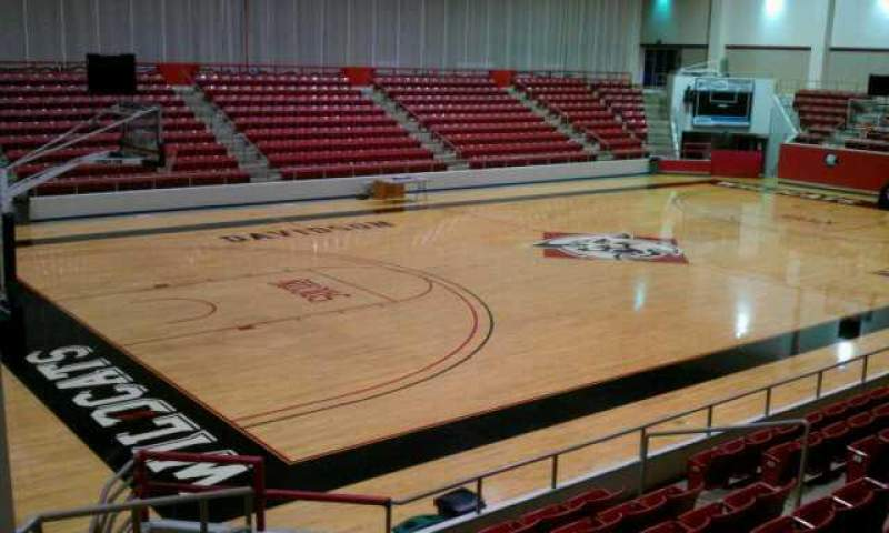 Seating view for John M. Belk Arena