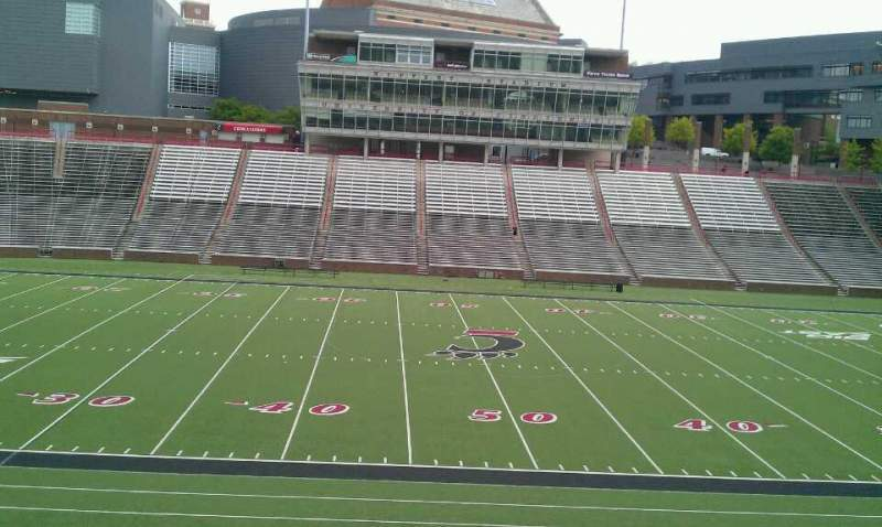 Seating view for Nippert Stadium Section 107 Row 32 Seat 8
