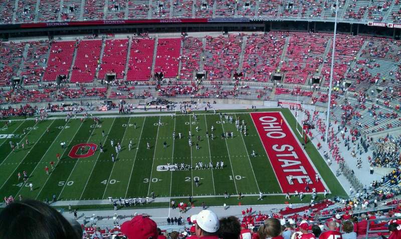 Seating view for Ohio Stadium Section 18c Row 41 Seat 32