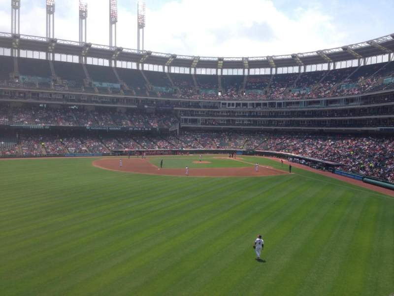 Seating view for Progressive Field Section 182 Row G Seat 11