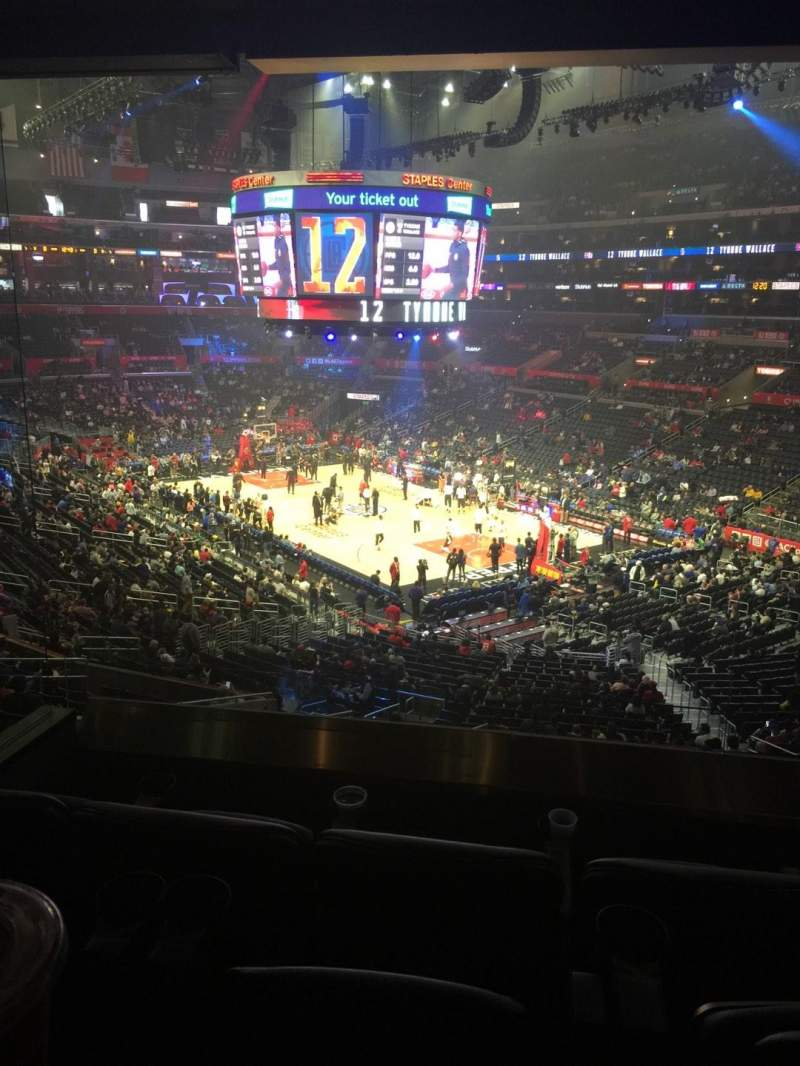 Seating view for Staples Center Section Suite A37