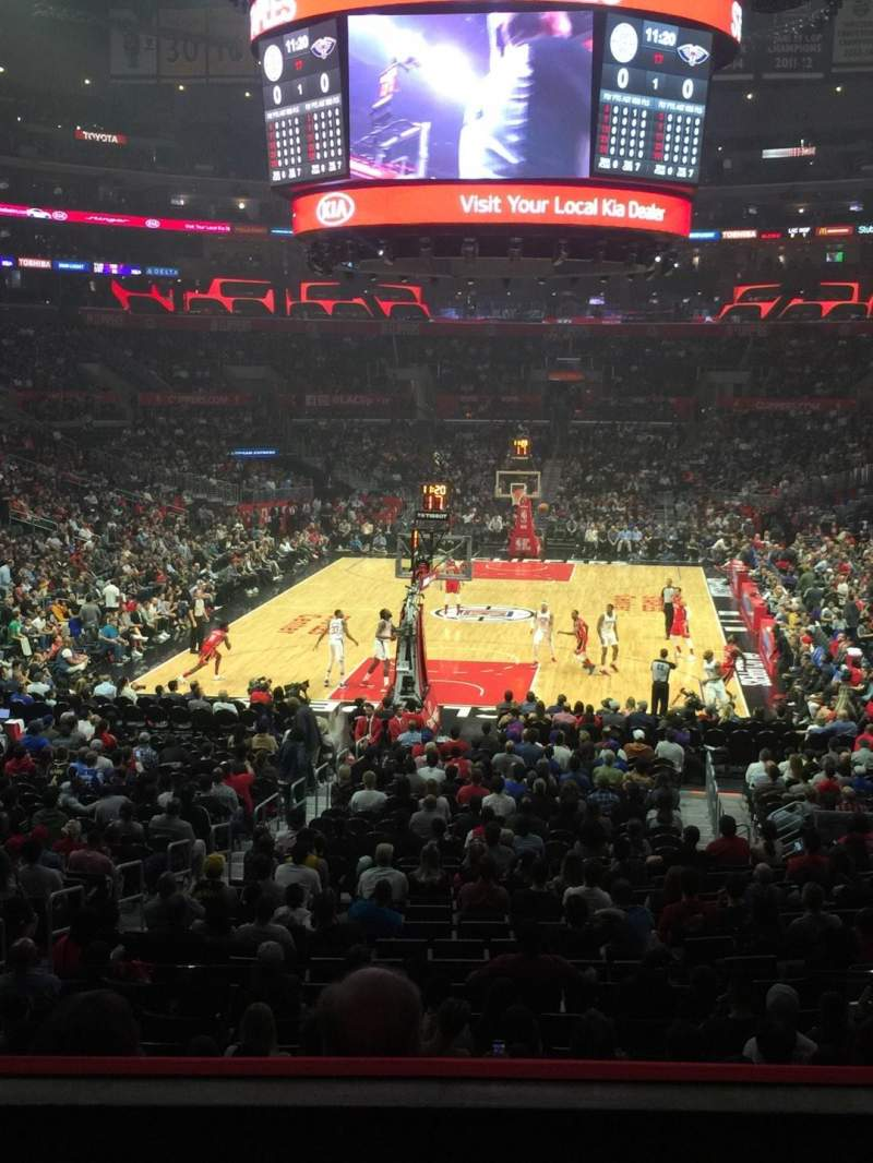 Staples Center, section: 207, row: 3, seat: 6