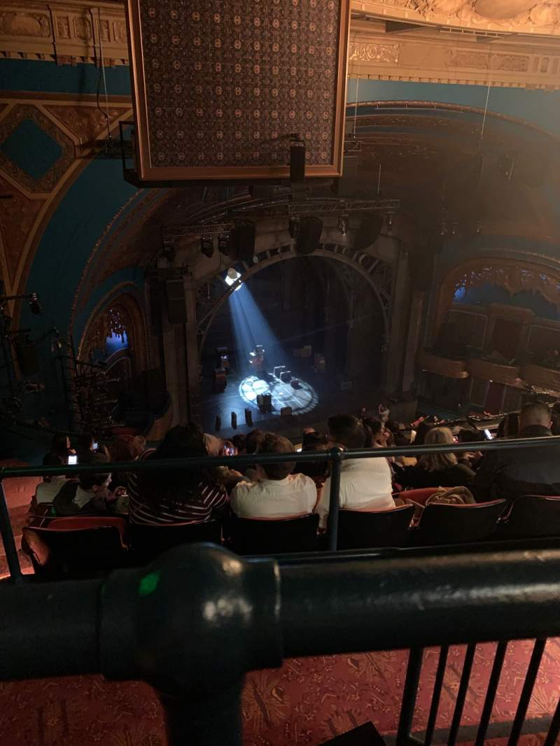 Seating view for Curran Theater Section Balcony Row H Seat 19