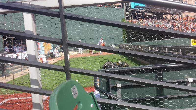Seating view for Oriole Park at Camden Yards Section 86 Row 2 Seat 9