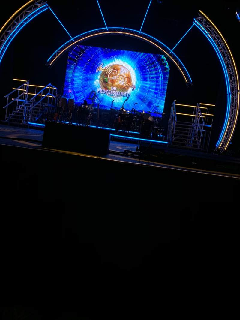 Seating view for Blackpool Opera House Section Stalls Row A Seat 15