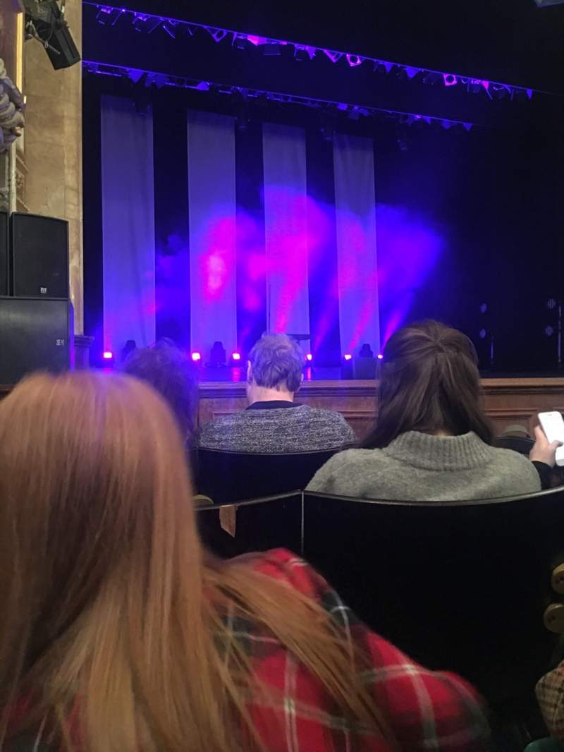 Seating view for Buxton Opera House Section Stalls Row D Seat 25