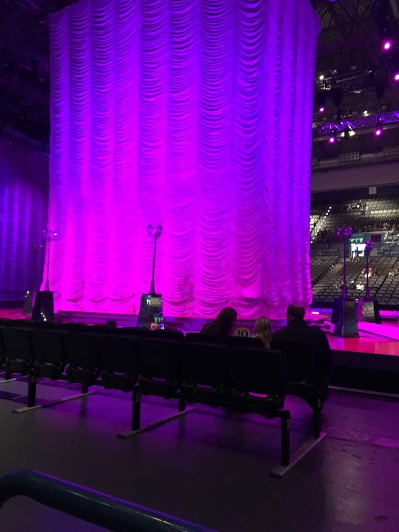 Seating view for Utilita Arena Birmingham Section 9 Lower Row A Seat 45