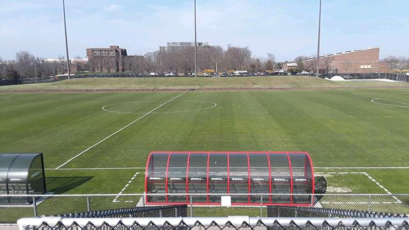 Seating view for Yurcak Field Section 4 Row 10 Seat 10