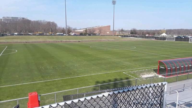 Yurcak Field, section: 8, row: 10, seat: 7