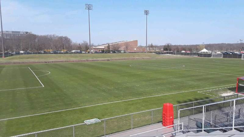 Seating view for Yurcak Field Section 9 Row 10 Seat 7