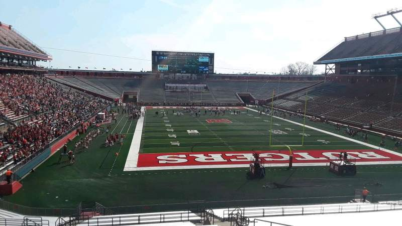Seating view for High Point Solutions Stadium Section 117 Row 38 Seat 14