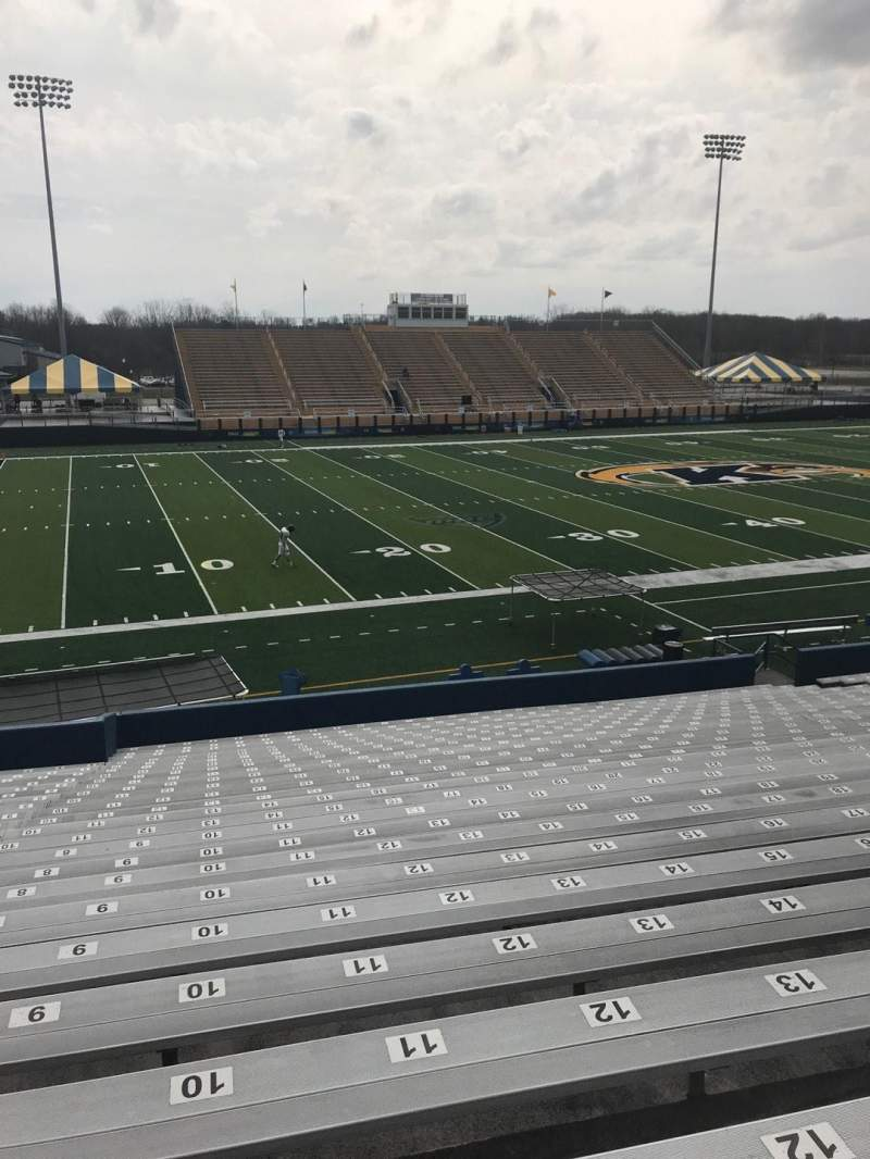 Seating view for Dix Stadium Section 6 Row 10 Seat 10