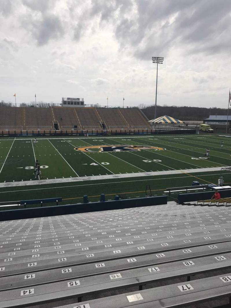 Seating view for Dix Stadium Section 5 Row 7 Seat 14