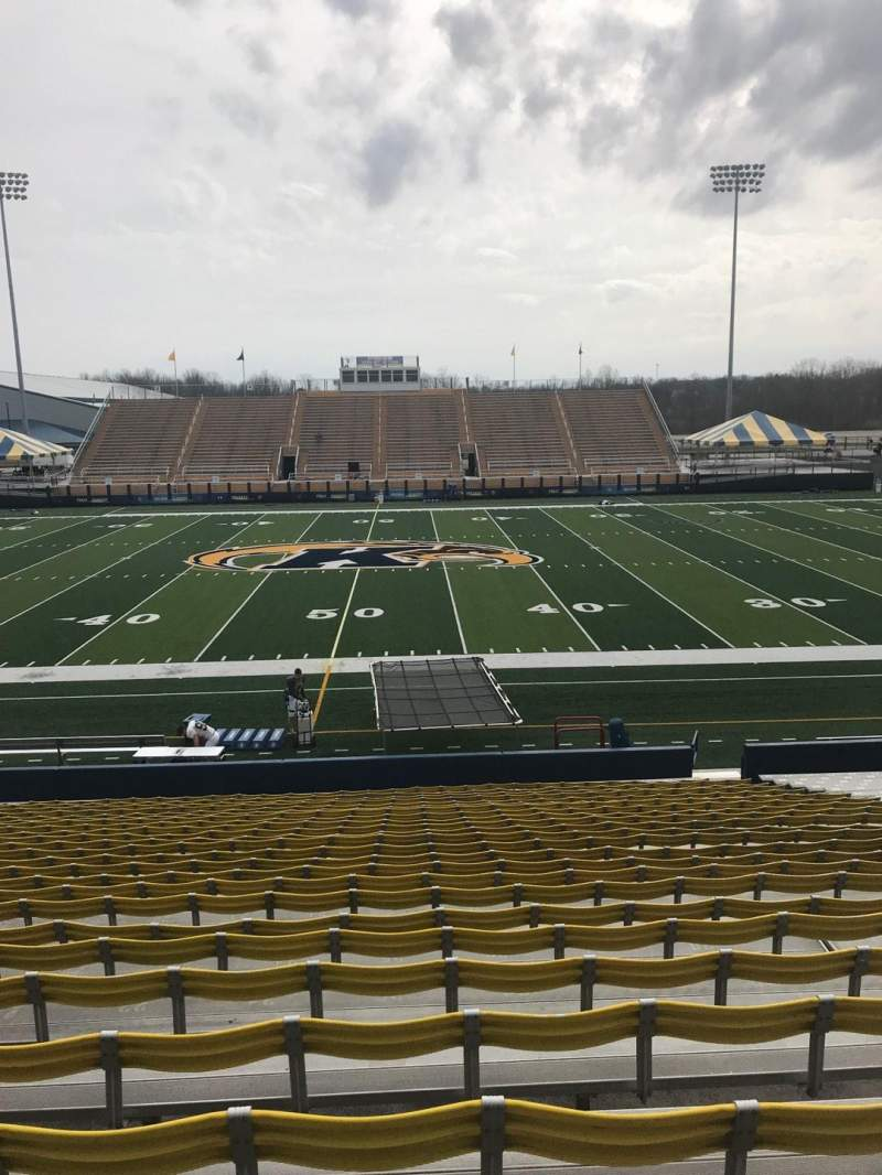 Seating view for Dix Stadium Section 4 Row 9 Seat 25