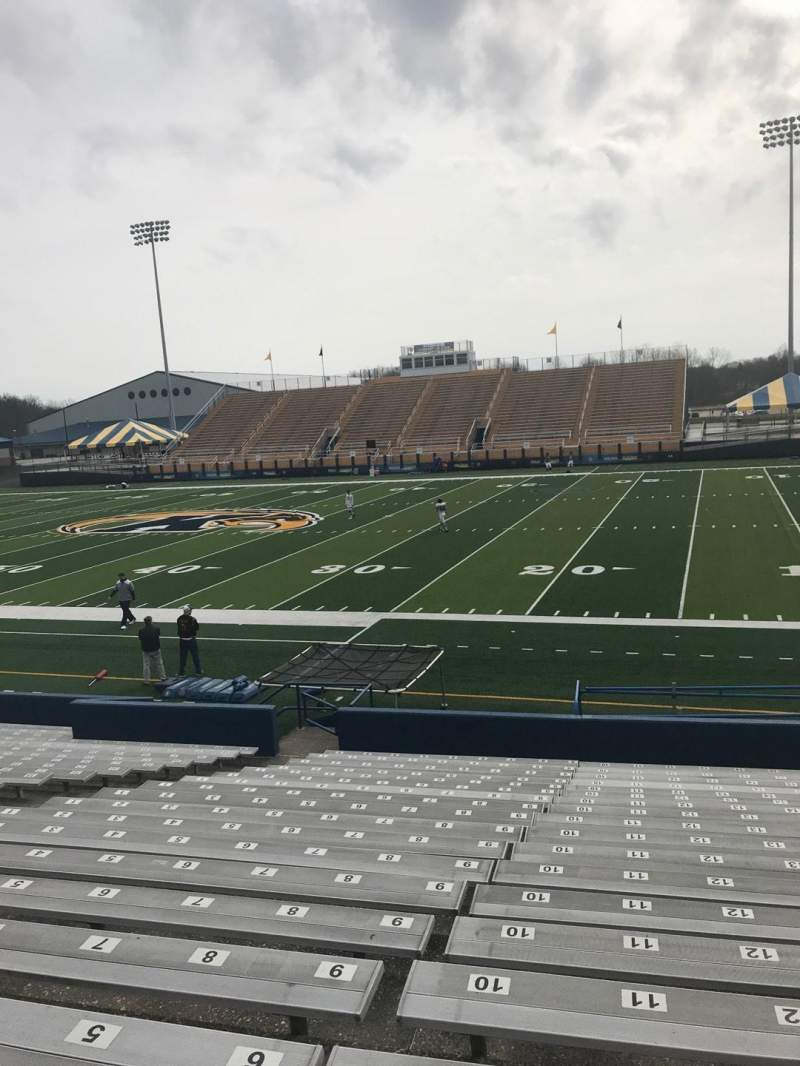 Seating view for Dix Stadium Section 2 Row 4 Seat 8