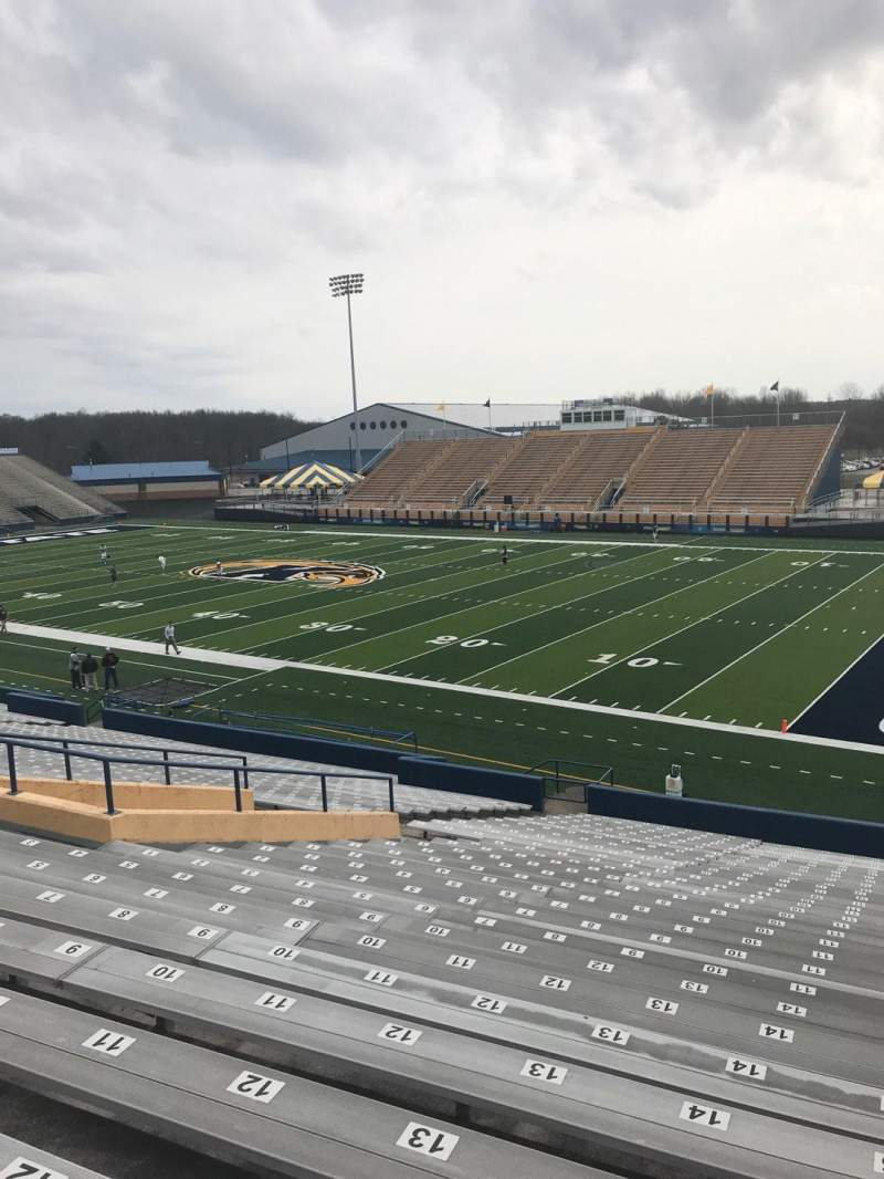 Seating view for Dix Stadium Section 1 Row 18 Seat 15