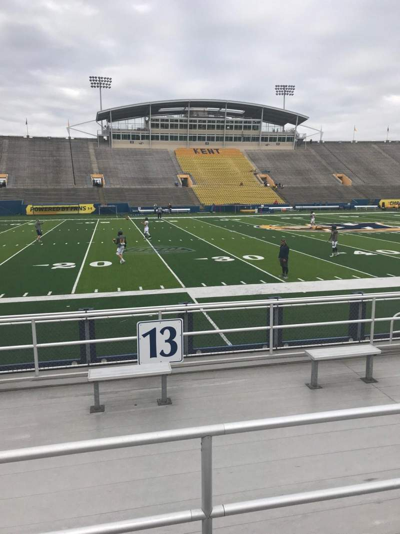 Seating view for Dix Stadium Section 13 Row C Seat 12