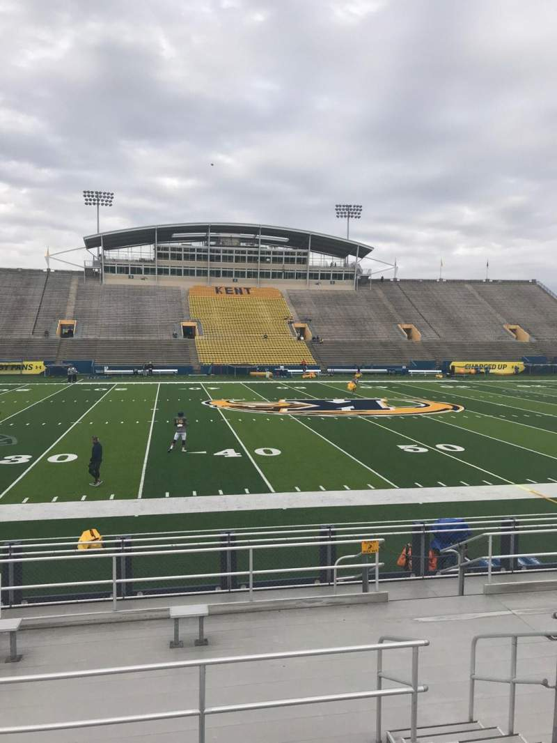 Seating view for Dix Stadium Section 12 Row G Seat 7