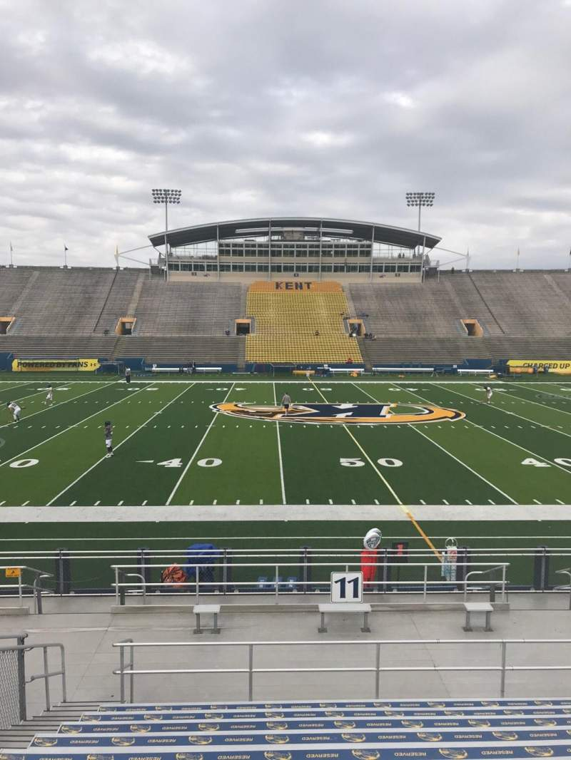 Seating view for Dix Stadium Section 11 Row L Seat 11
