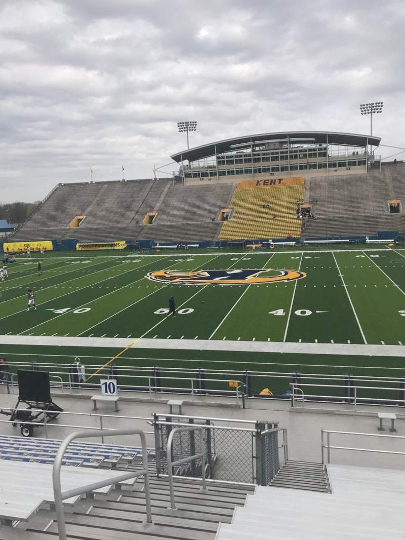 Seating view for Dix Stadium Section 9 Row O Seat 19