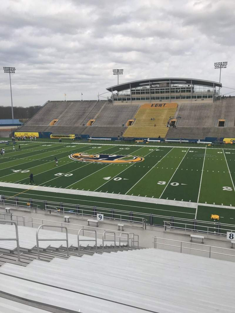Seating view for Dix Stadium Section 8 Row W Seat 12