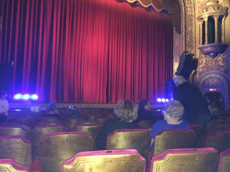 Landmark Theatre (Syracuse), section: ORCH LC, row: M, seat: 127