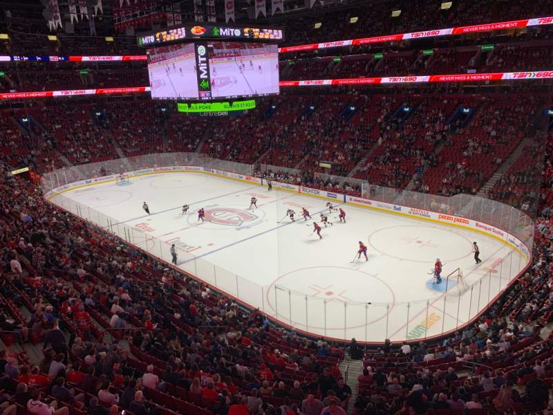 Seating view for Centre Bell Section 209 Row A Seat 20